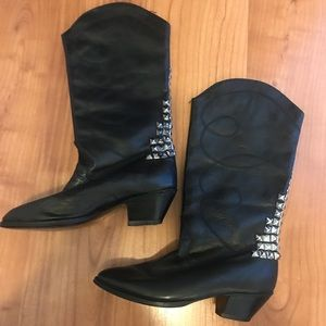Jeffrey Campbell boots leather
